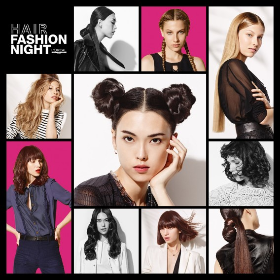 Hair Fashion Night Loreal professionel