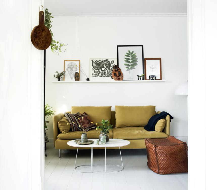 Retro Green Interior