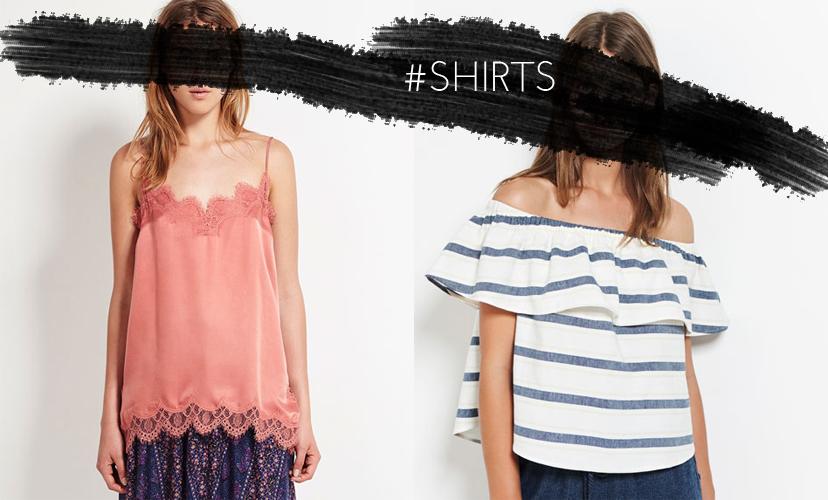Oysho Shirts