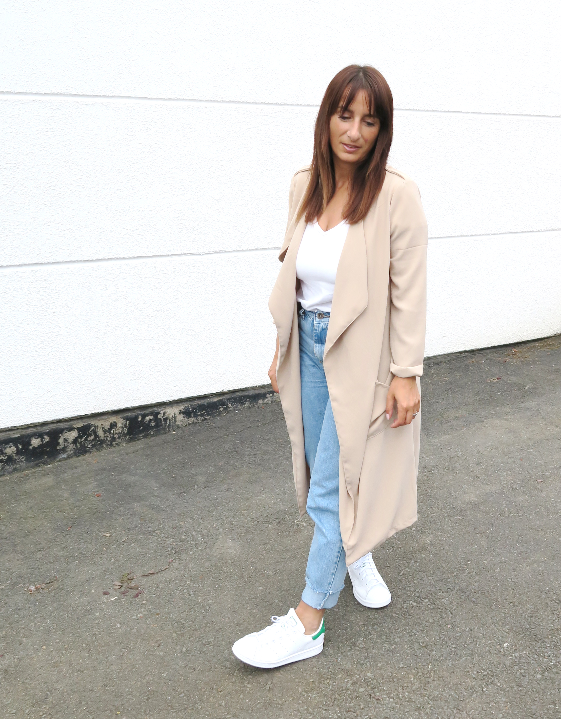 Blogger-Modesalat-Streetstyle-Bloggerstyle-Coat-Beige-Stansmith-2