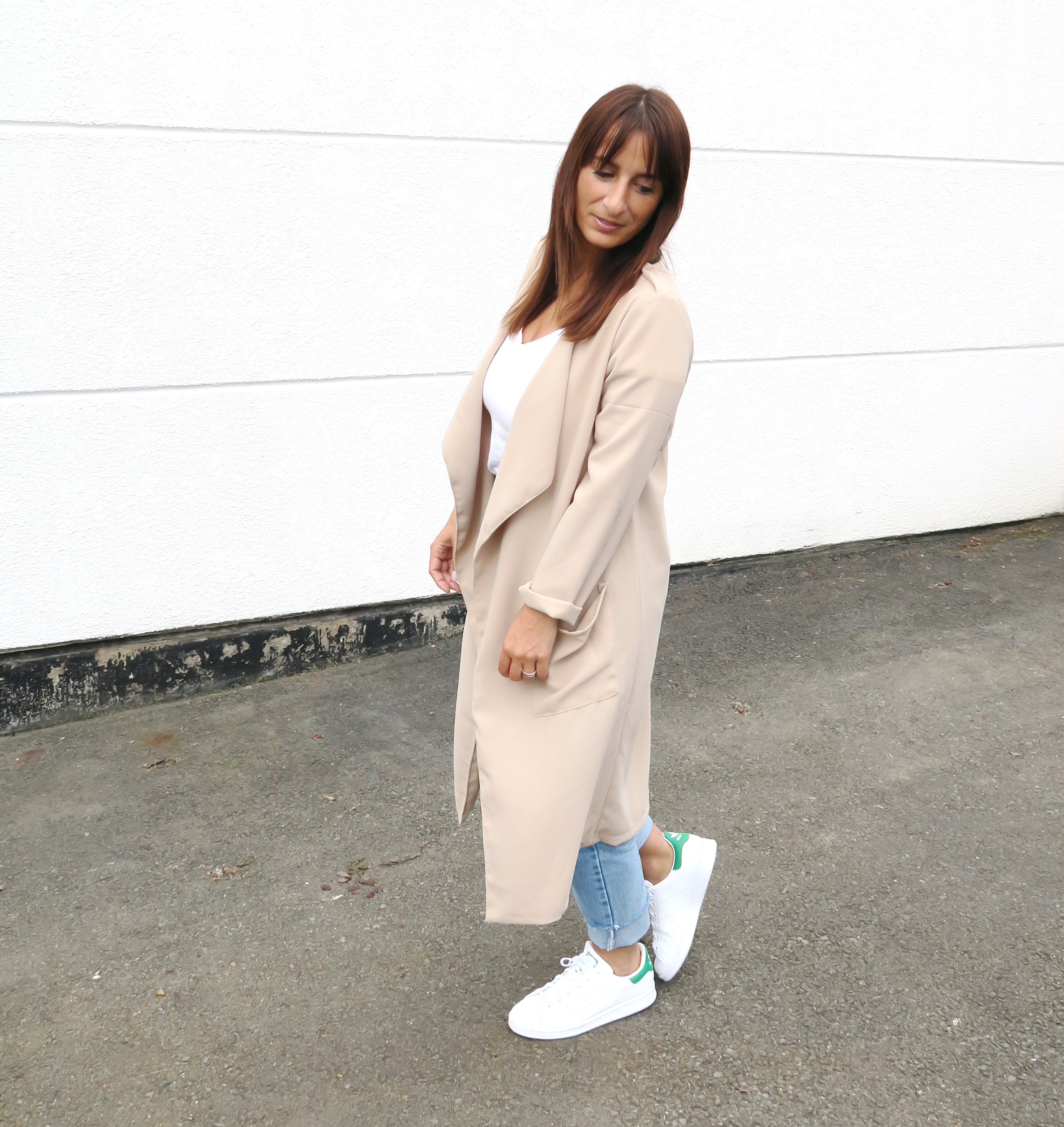 Blogger-Modesalat-Streetstyle-Bloggerstyle-Coat-Beige-Stansmith-3