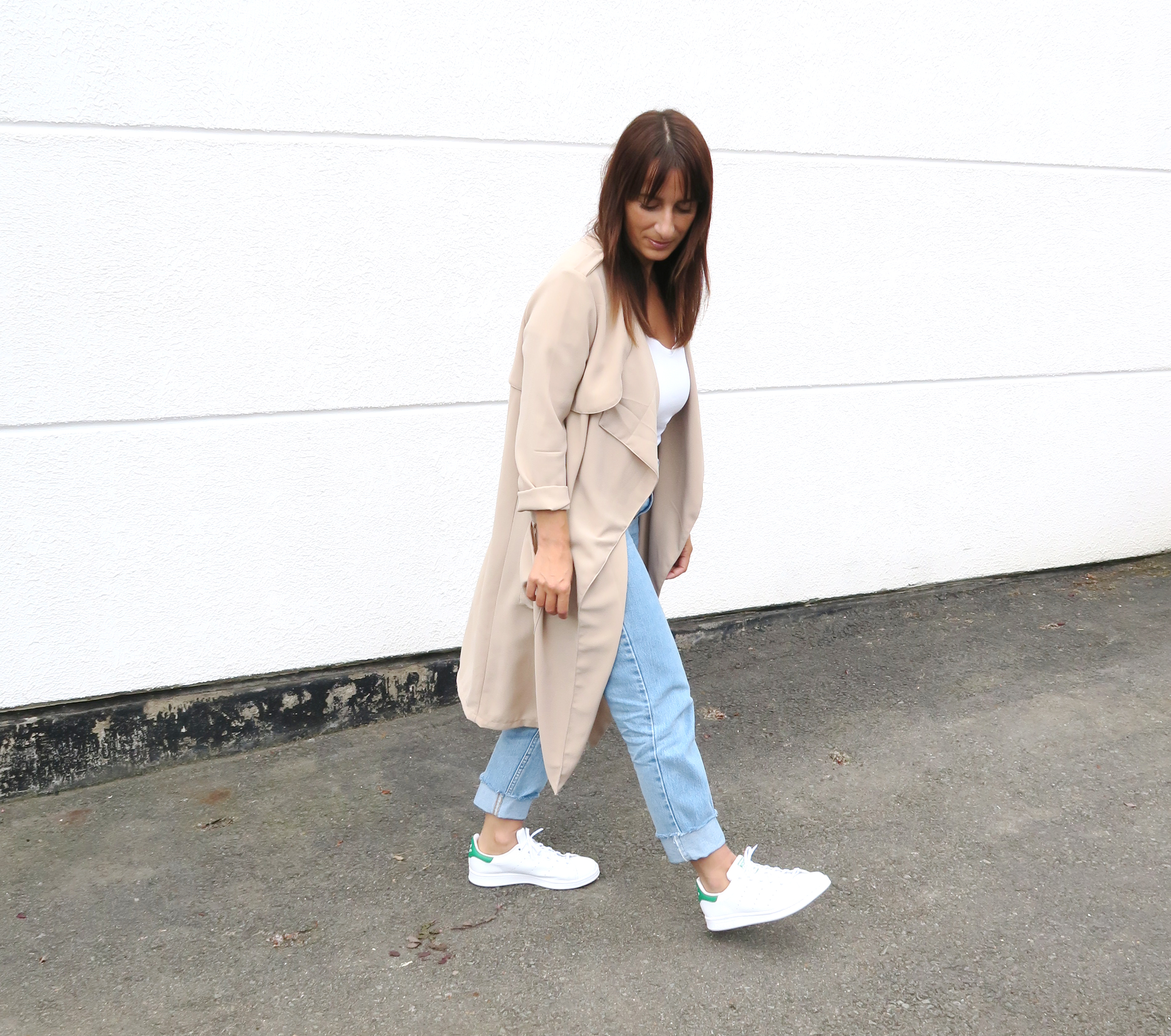 Blogger-Modesalat-Streetstyle-Bloggerstyle-Coat-Beige-Stansmith-4