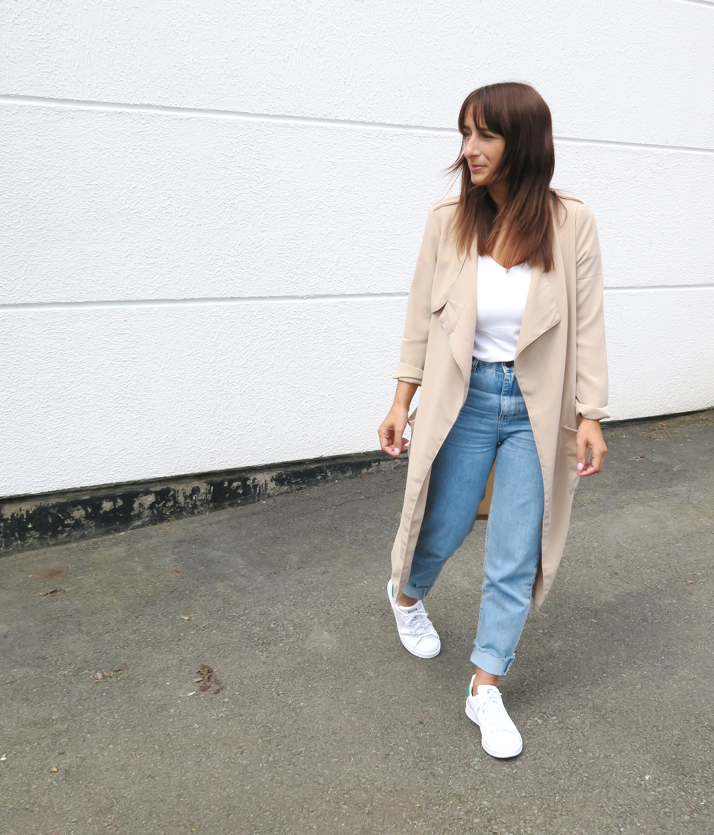 Blogger-Modesalat-Streetstyle-Bloggerstyle-Coat-Beige-Stansmith-5