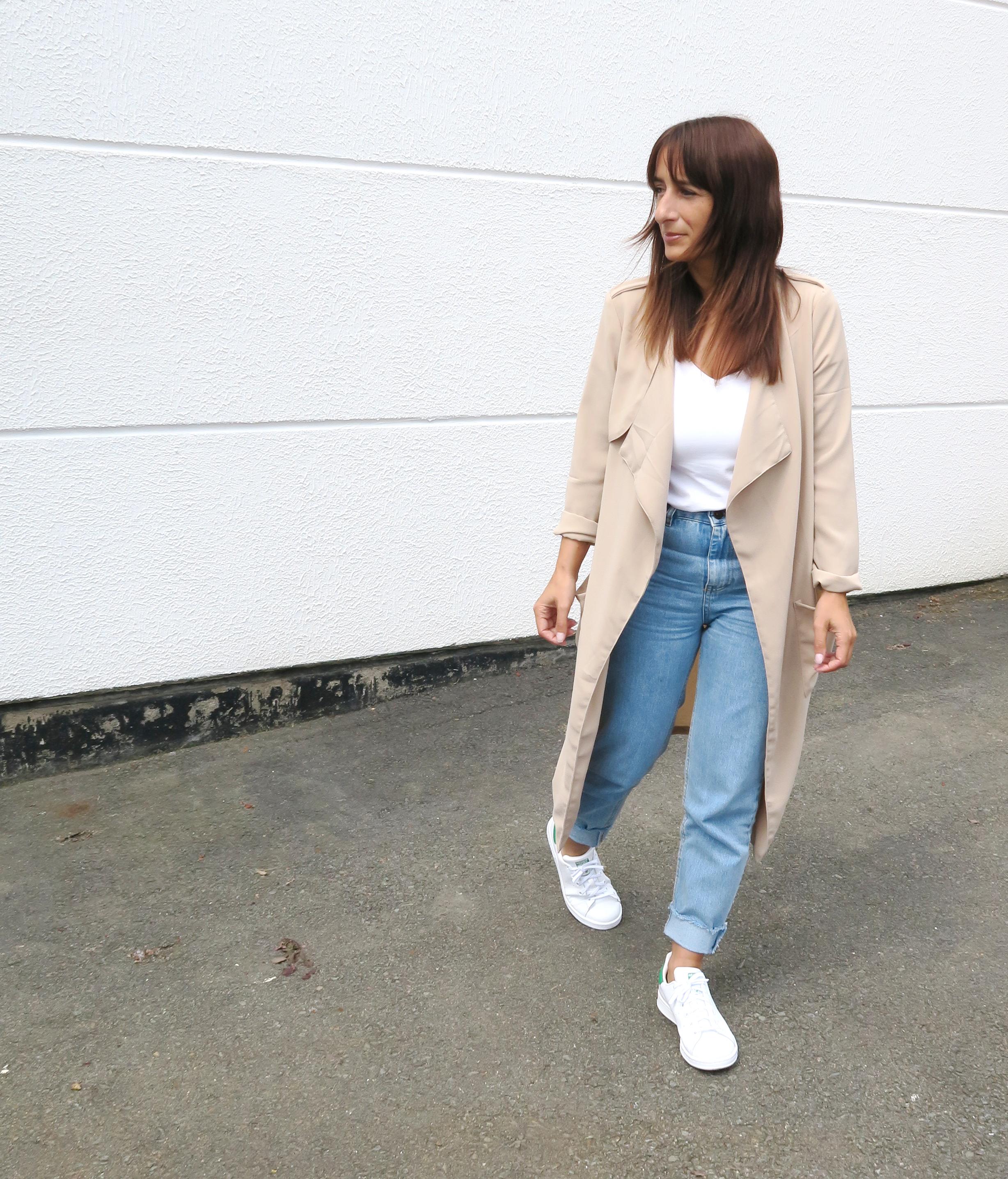 Blogger-Modesalat-Streetstyle-Bloggerstyle-Coat-Beige-Stansmith-5