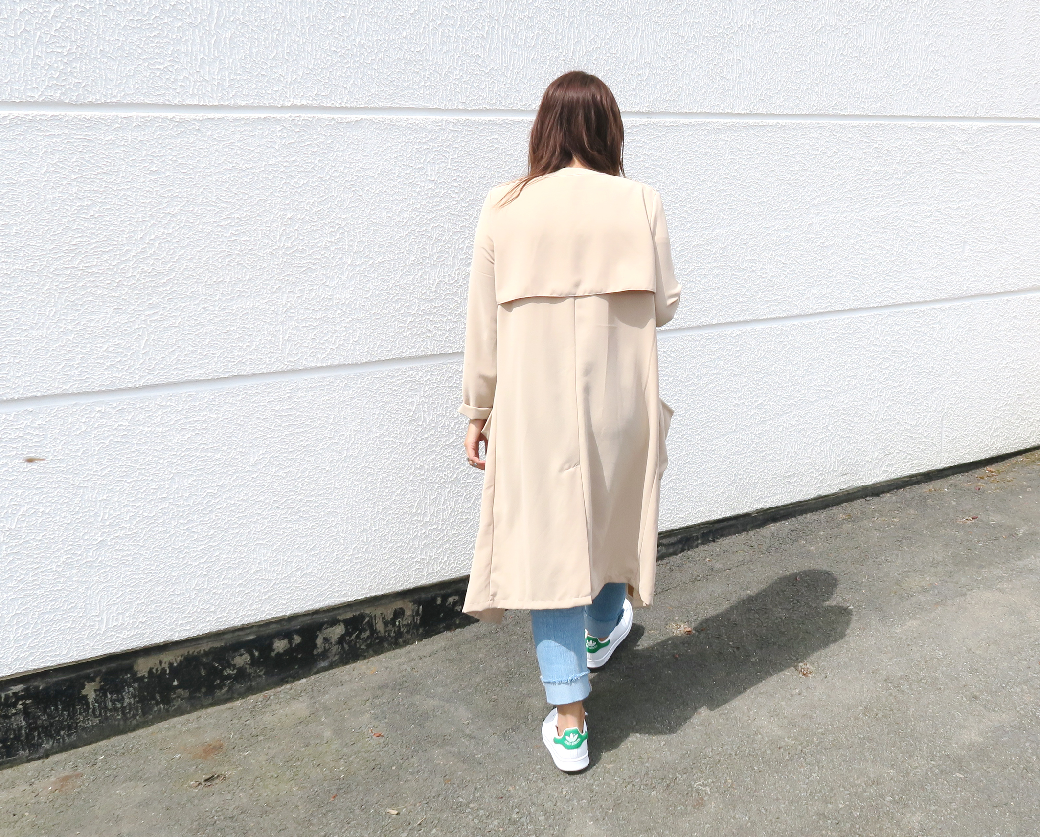 Blogger-Modesalat-Streetstyle-Bloggerstyle-Coat-Beige-Stansmith-7