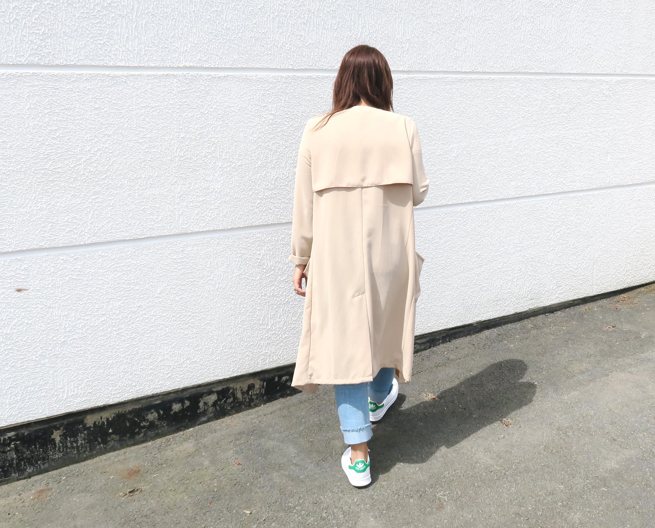 Blogger-Modesalat-Streetstyle-Bloggerstyle-Coat-Beige-Stansmith-7