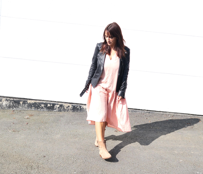 Modesalat-blogger-streetstyle-leather-bloggerstyle-ruffles-dress-2