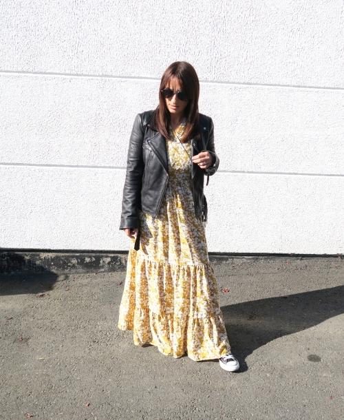 Rockig im Kleid