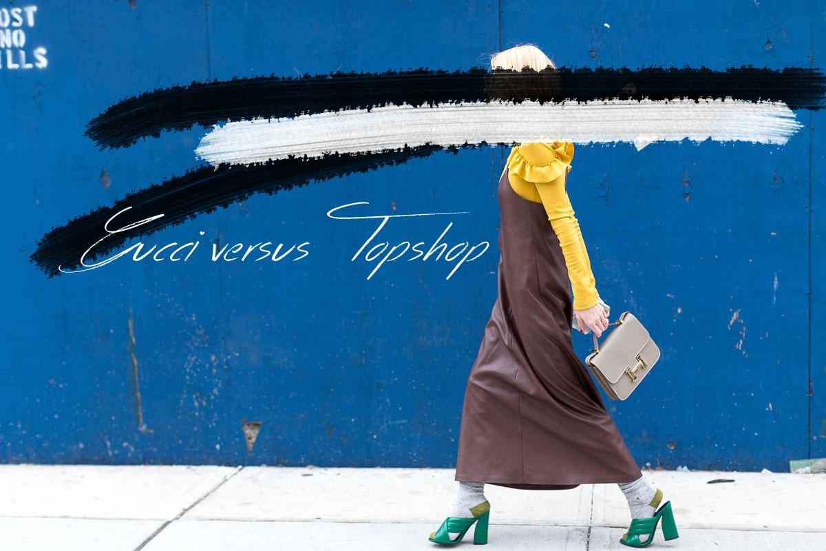 Gucci versus Topshop