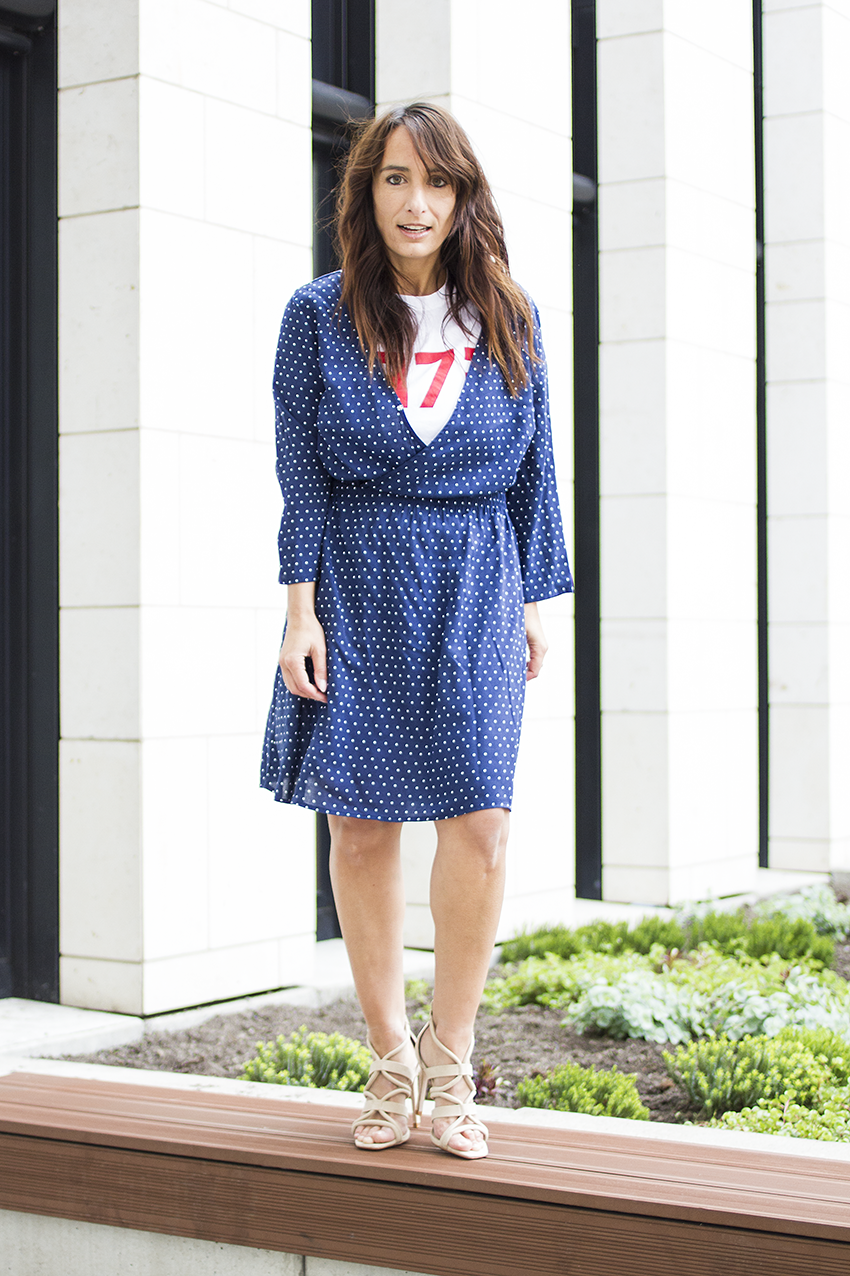 OUTFIT | Summer Love Mini Dress with Shirt