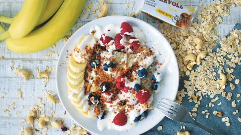 FOOD | REZEPT | Banane-Protein Crêpes