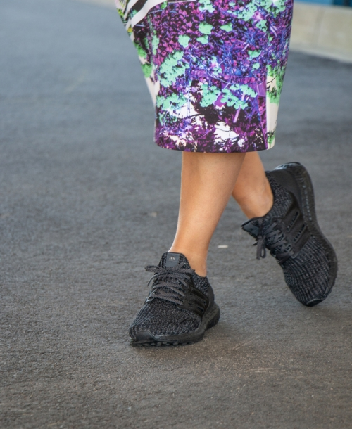 Sneaker Street Style Outfit – Styling mit Adidas Ultra Boost