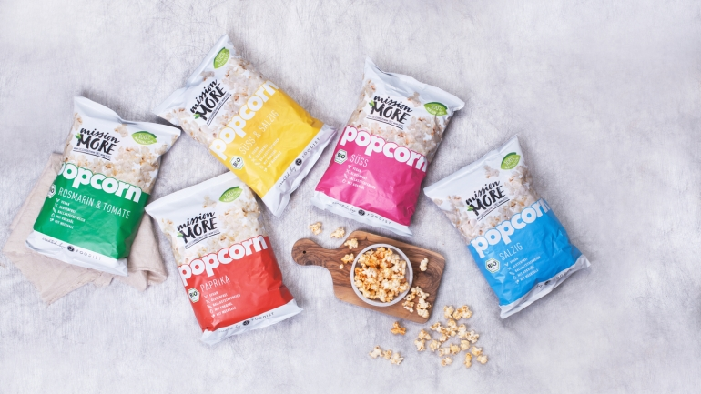 FOOD NEWS – MISSION MORE POPCORN