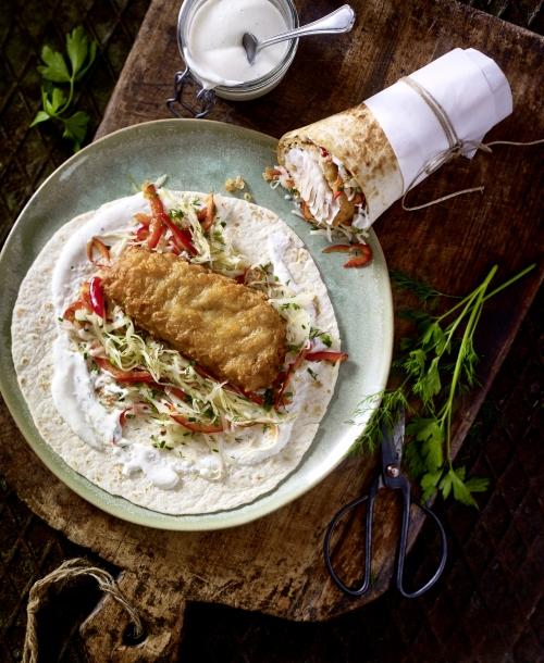 Food | Rezept | Alpiner Fisch-Wrap