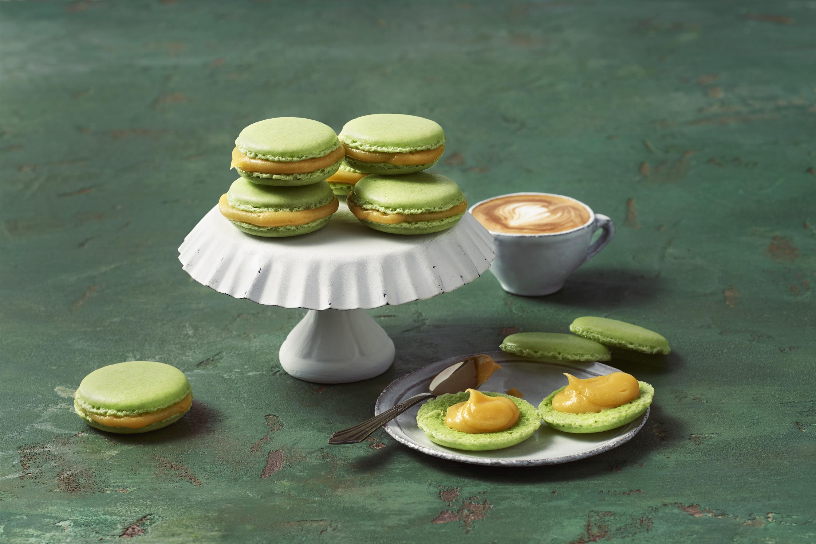 Rezept | Macarons Maracuja Lemon