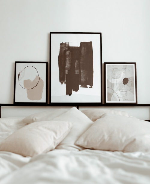 Interior Schlafzimmer update Minimal Style Desenio