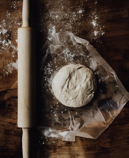 Pizzateig, Brotteig und Nudelteig im Mixer