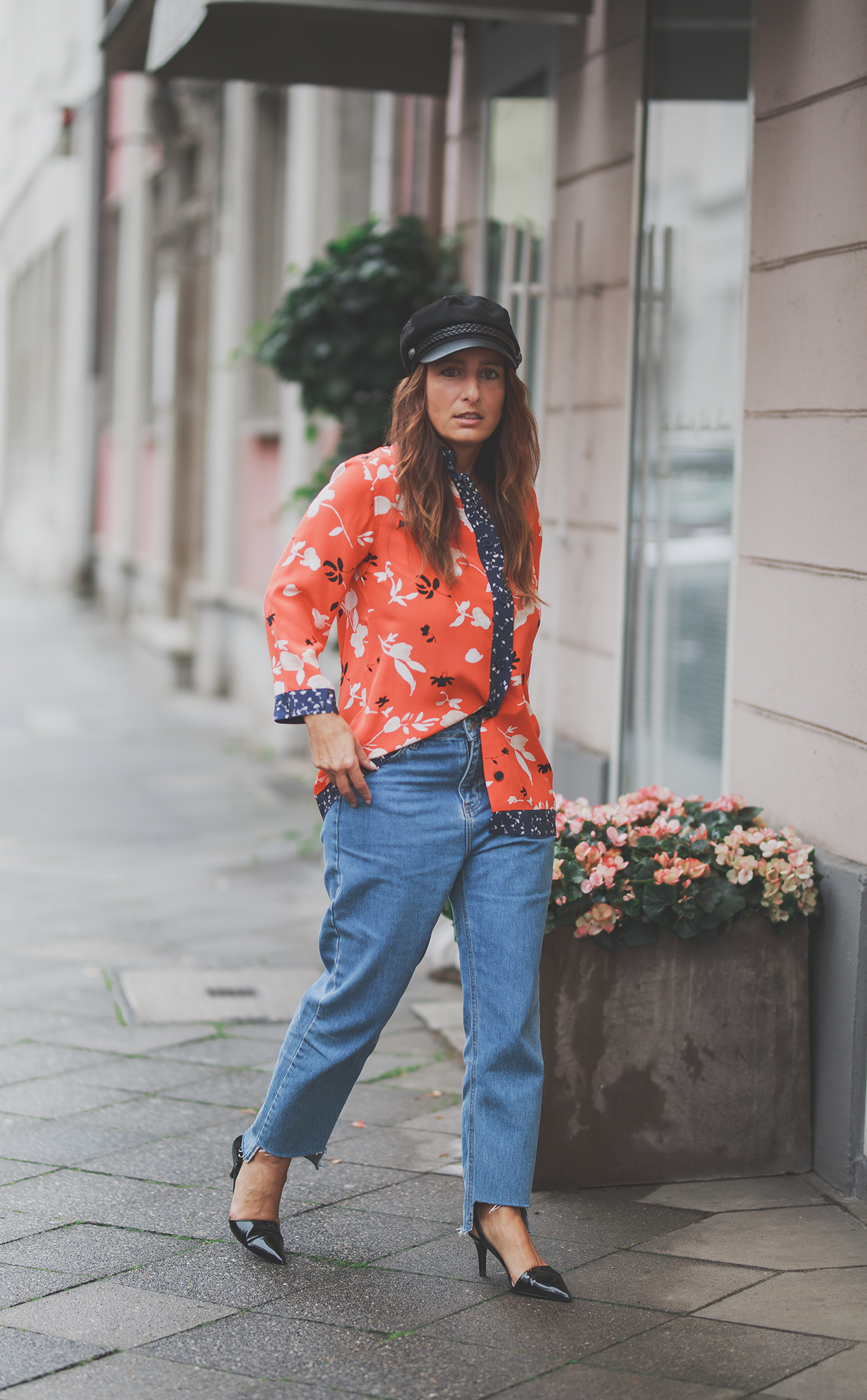 OUTFIT | FRENCH Style, GANNI and MOM Jeans