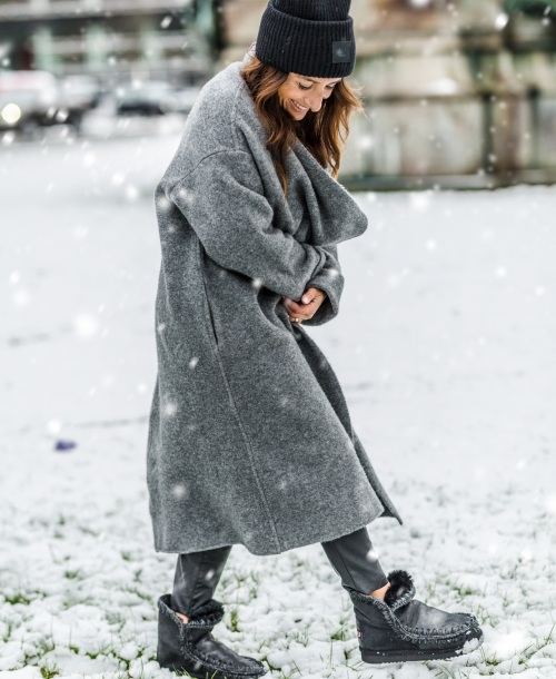 Outfit | Streetstyle | Winter Mou Boots, Grey Coat & Personal Stuff