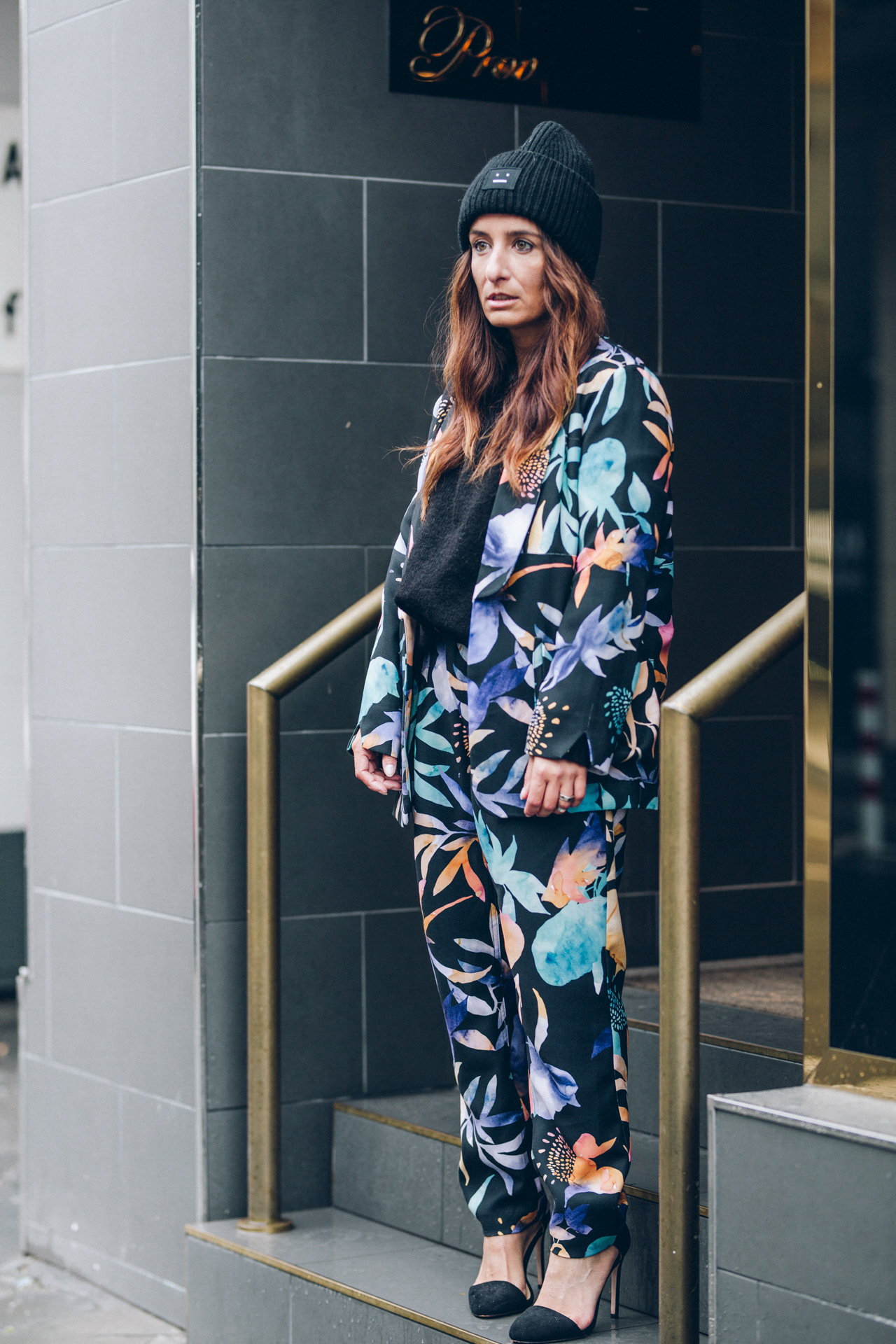 OUTFIT | All Over Look x Hosenanzug x Print x Blumen