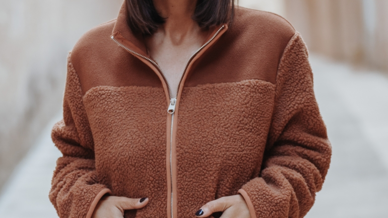 Teddy Jacke Outfit